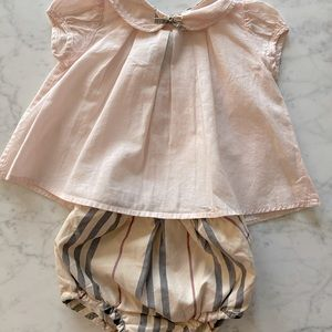 Burberry blouse with bloomer